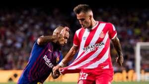 Arturo Vidal Aleix Garcia Barcelona Girona