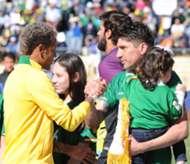 Ronald Raldes y Neymar