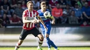 Luuk de Jong, PSV, Eredivisie, 04092017