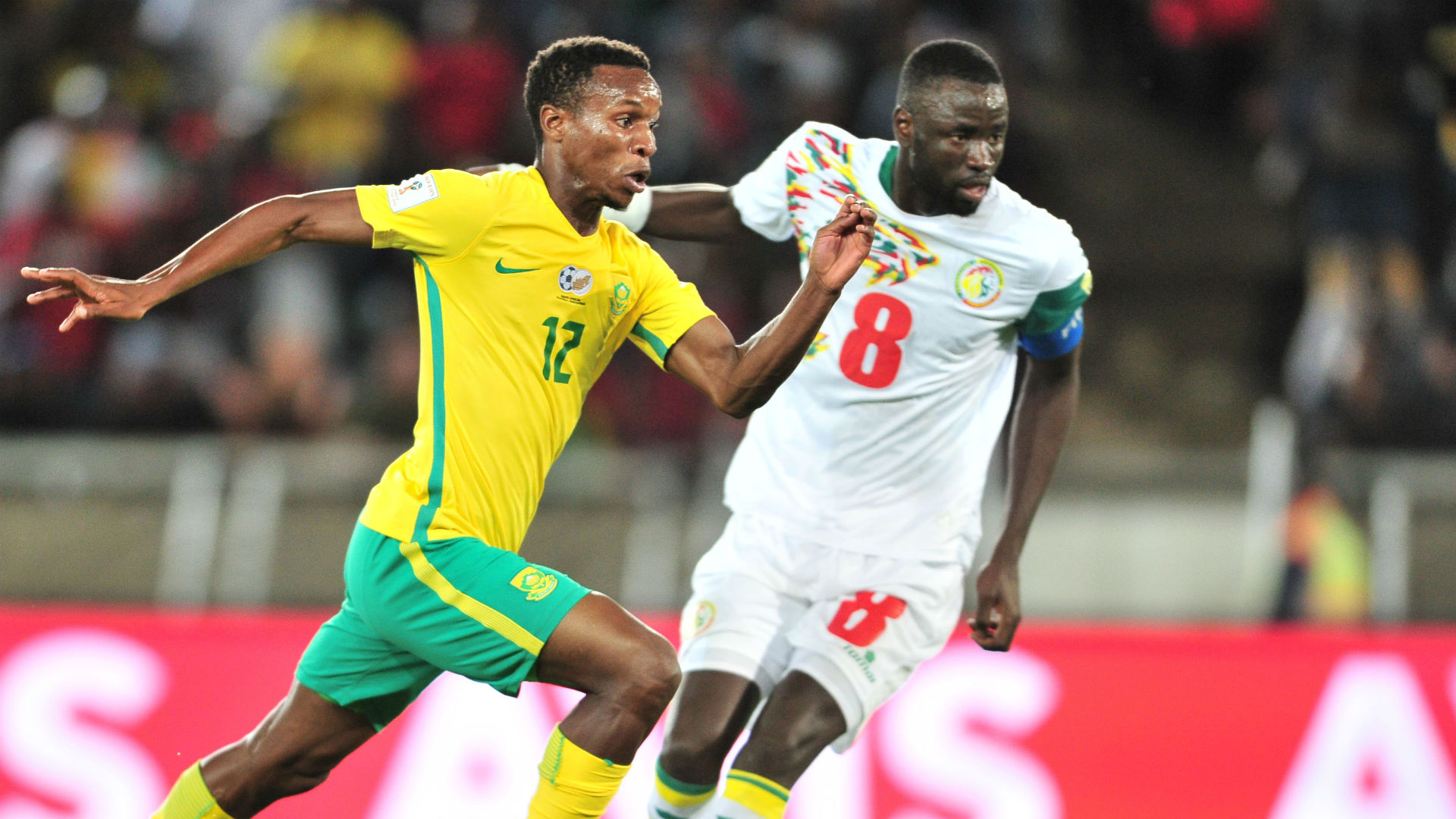 South Africa, Themba Zwane & Senegal, Cheikhou Kouyate
