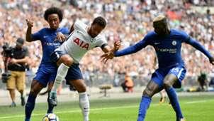 Mousa Dembele Willian Tottenham Chelsea