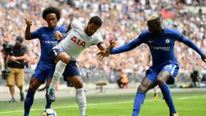 Mousa Dembele Willian Tottenham Chelsea