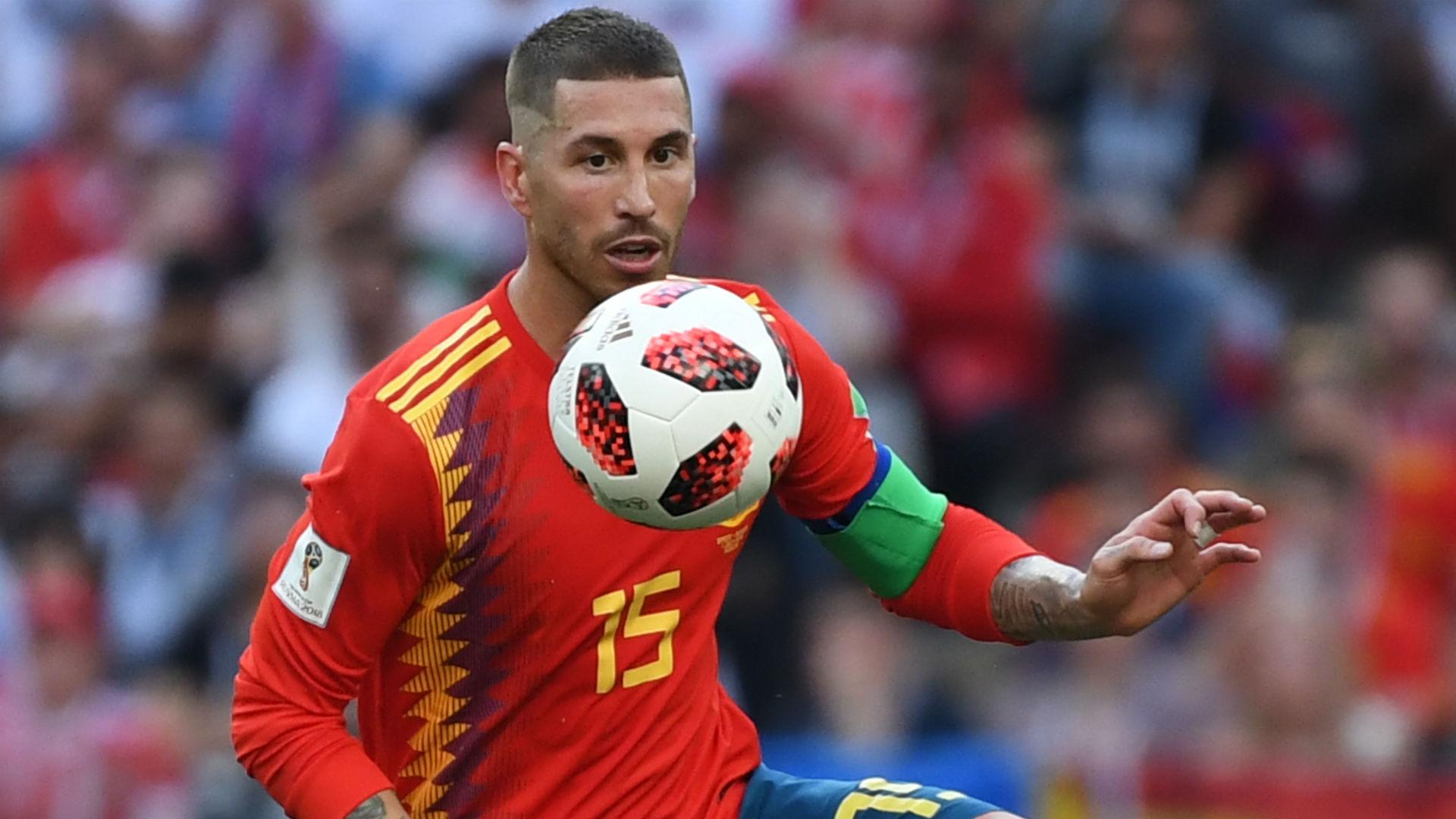 Sergio Ramos Spain World Cup