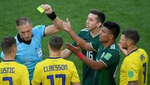Jesus Gallardo Mexico Sweden World Cup 2018