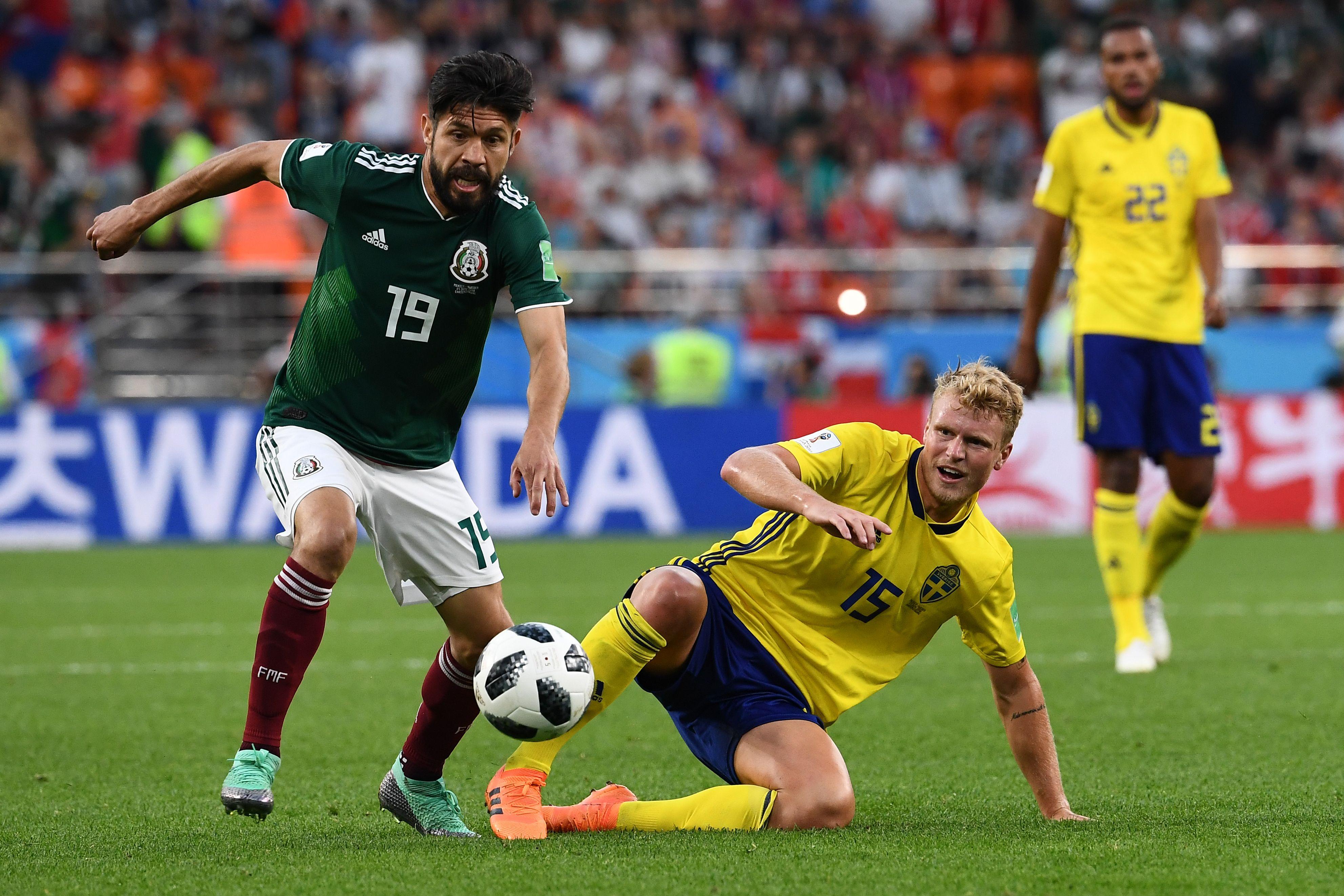 Oribe Peralta México 2018