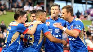 Andrew Nabbout Newcastle Jets v Brisbane Roar 05032017