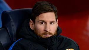 Lionel Messi Barcelona Sporting