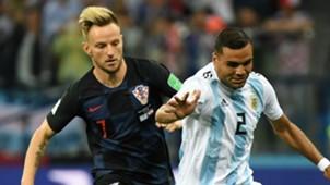 Ivan Rakitic Croatia Gabriel Mercado Argentina World Cup 2018