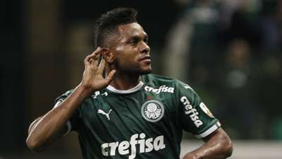 Miguel Borja Palmeiras Godoy Cruz Libertadores 30072019