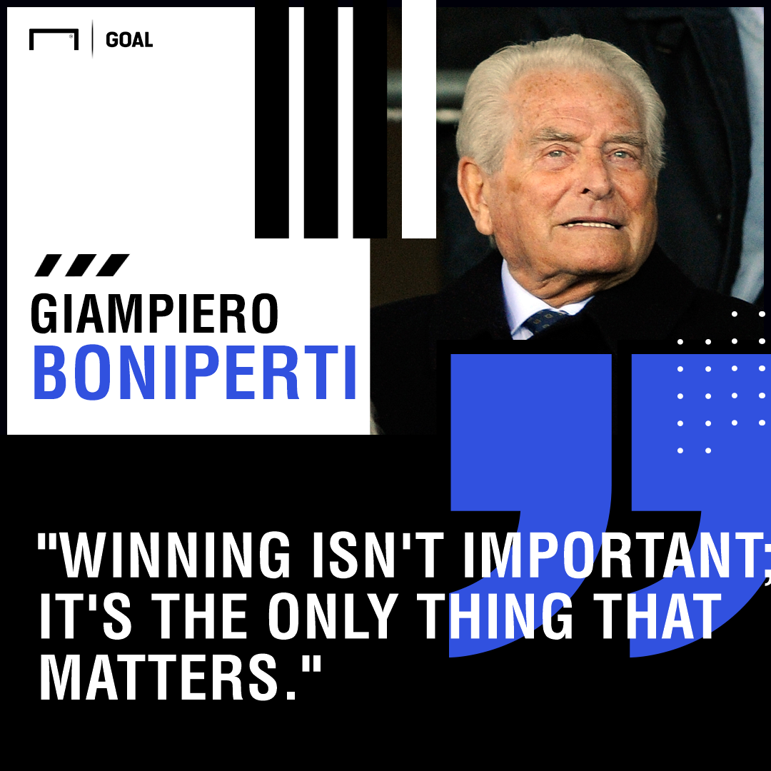 Giampiero Boniperti Juventus winning PS