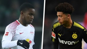 Ademola Lookman Jadon Sancho Split