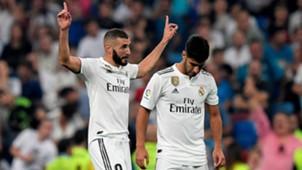Karim Benzema Marco Asensio Real Madrid Leganes LaLiga 01092018