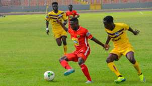 Emmanuel Gyamfi of Kotoko against Medeama