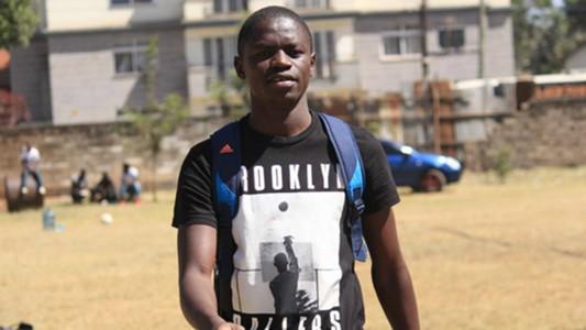 Mathare United midfielder Erick Johanna