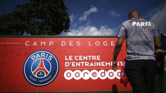 Illustration PSG Paris Saint-Germain Camp des Loges Centre Ooredoo