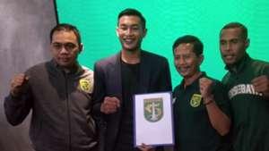 Candra Wahyudi - Hansamu Yama - Djajang Nurjaman - Ruben Sanadi - Persebaya Surabaya