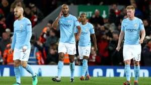 Vincent Kompany Manchester City Liverpool