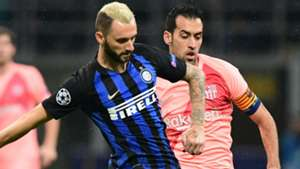 Brozovic Inter Barcelona Champions League