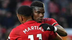 Anthony Martial Paul Pogba Manchester United 2018-19