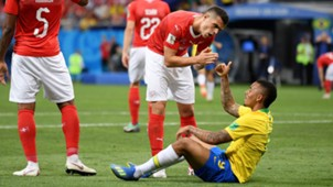 Gabriel Jesus Granit Xhaka Brazil Switzerland World Cup 17062018