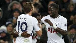Serge Aurier Harry Kane Moussa Sissoko Tottenham Premier League
