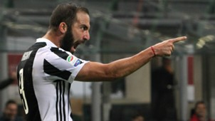 Gonzalo Higuain Juventus Milan