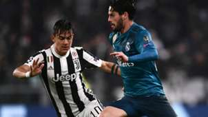 Isco Dybala Juventus Real Madrid Champions League
