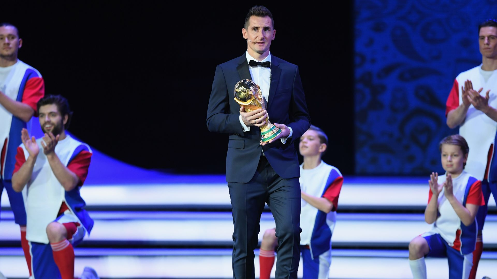 Miroslav Klose FIFA World Cup 2018 draw