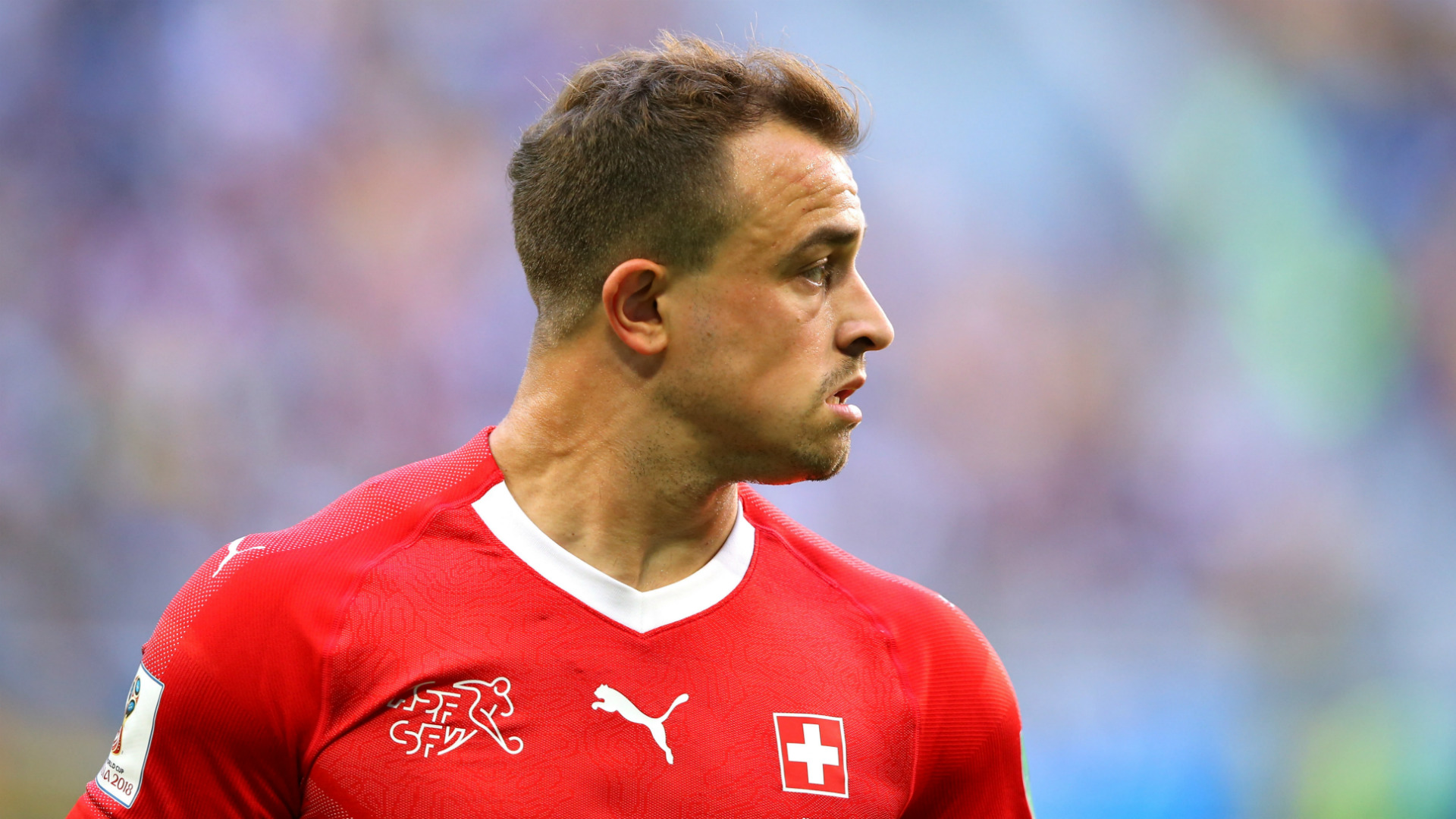 Xherdan Shaqiri Switzerland 2018 World Cup
