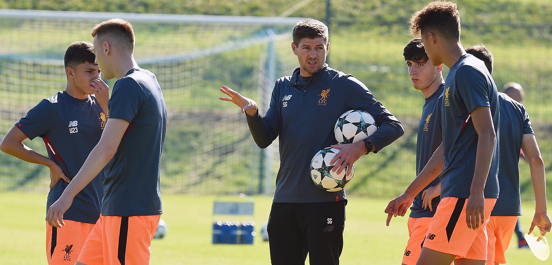 Gerrard Liverpool U18s