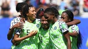 Nigeria celebrate 2019