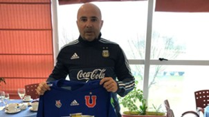 Jorge Sampaoli. Camiseta de Universidad de Chile