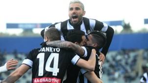 Udinese celebrating Bologna Udinese Serie A