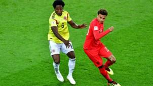 Carlos Sanchez Colombia England WC Russia 03072018