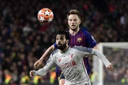 Mohamed Salah Ivan Rakitic Barcelona Liverpool UEFA Champions League semi final 2018-19