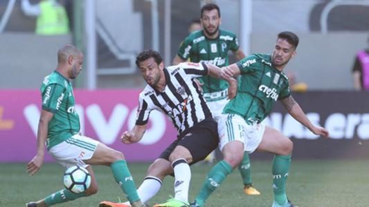 Fred, Luan e Edu Dracena - Atlético-MG x Palmeiras - 9/09/2017
