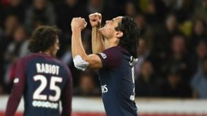 Edinson Cavani PSG Monaco Ligue 1