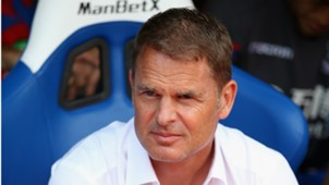 Frank de Boer, Crystal Palace - Swansea, Premier League 08262017