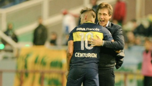 Ricardo Centurion Guillermo Barros Schelotto Boca Juniors Aldosivi