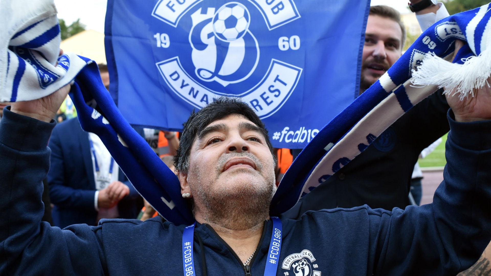 Diego Maradona Dynamo Brest