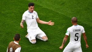 Jose Gimenez Uruguay Egypt World Cup 2018