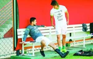 Rodrigo Ramallo y Marcelo Martins