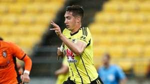 Alex Rodriguez Wellington Phoenix v Brisbane Roar A-League 21012017