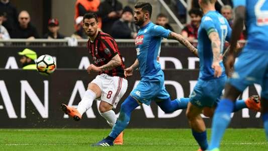 Suso Milan Napoli Serie A