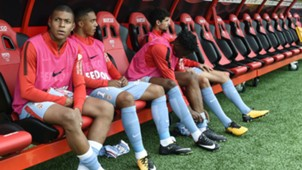 dijon monaco - kylian mbappe bench - ligue 1