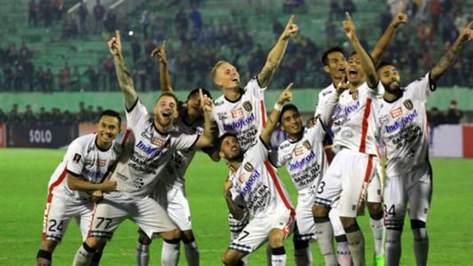 Selebrasi Bali United