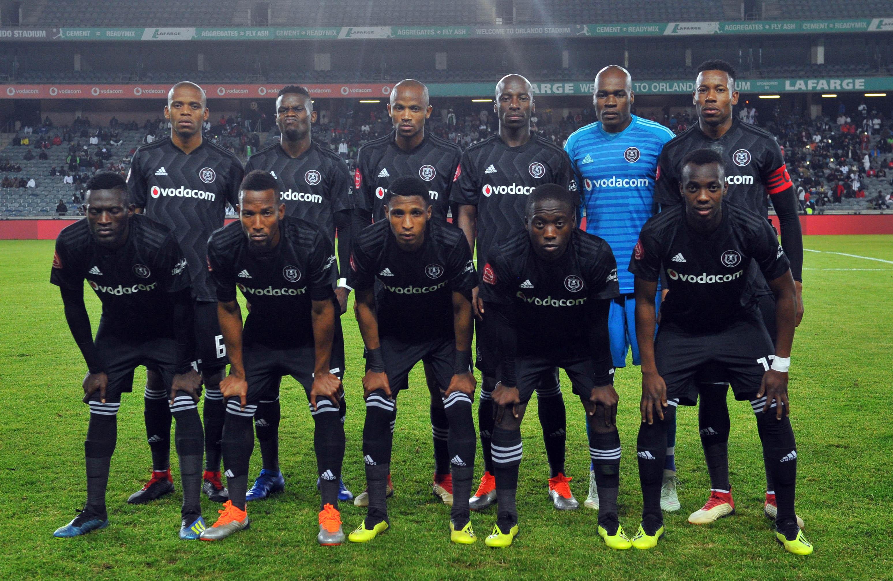 Orlando Pirates team, Augsut 2018