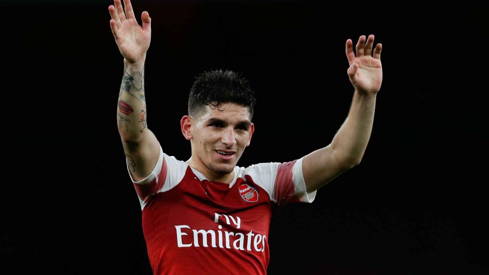 Lucas Torreira Arsenal Tottenham 021218