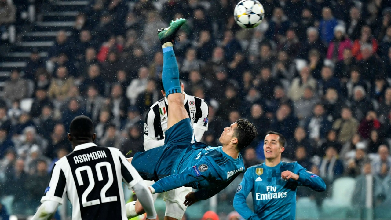 Image result for Cristiano Ronaldo nominated for UEFA Goal of the Season for overhead kick vs. Juventus