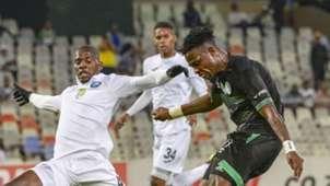 Sandile Mthethwa, Richards Bay & Tshegofatso Mabasa, Bloemfontein Celtic, February 2019